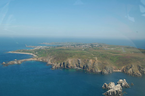 Alderney via Bembridge