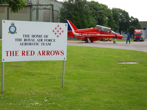 RAF Scampton & The Red Arrows