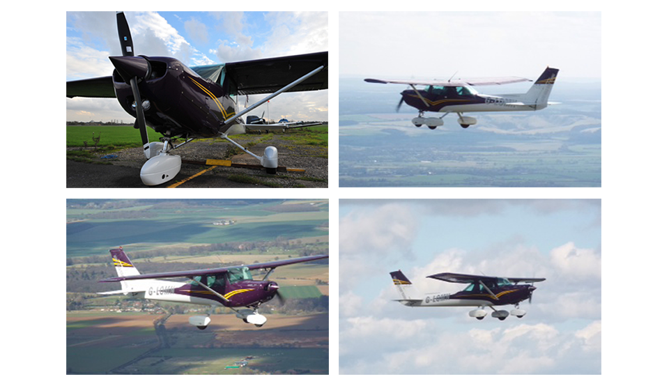 Header imageThe G-LOMN Plane | North Weald Flying Group