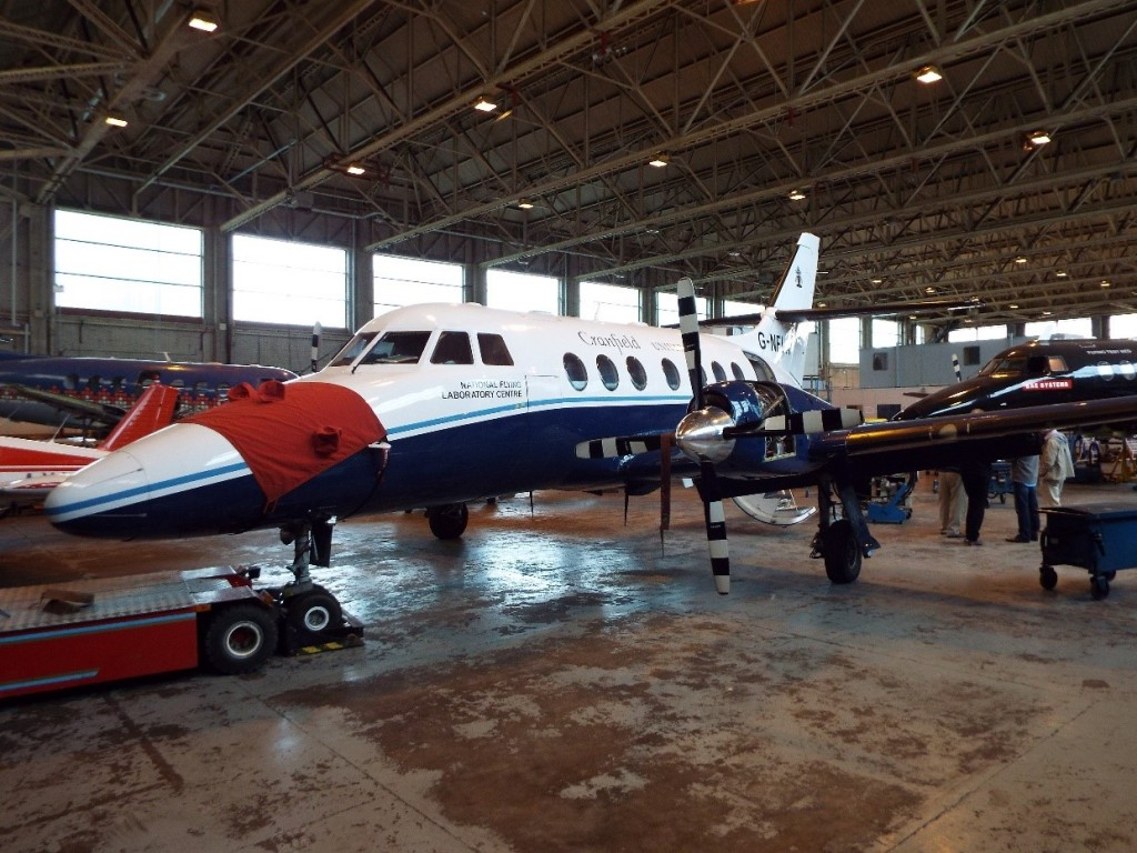 The NFLC Jetstream 31.