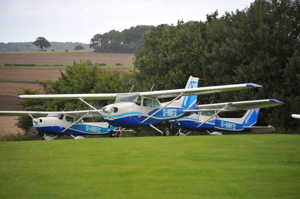 The 2015 North Weald Flying Group Farm Strip Tour