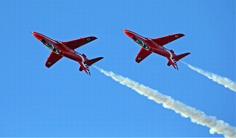 RAF SCAMPTON – THE RED ARROWS